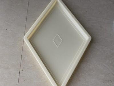 菱形广场彩砖模具